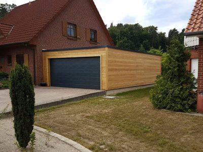 Holzständer Garagen